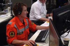 Crisis Call Centre for the Rural Fire Service, Blue Mountains Fires 2013