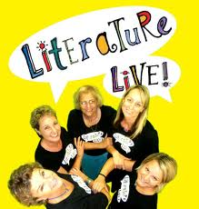 The talented Literature Live! team: Aleesah Darlison, Laurine Croasdale, Nina Rycroft and Susanne Gervay!